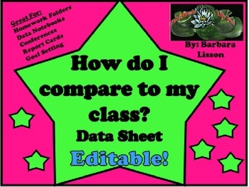 Comparing Data Quick Sheet: Track Data All Year Long