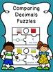 Comparing Decimals Game Puzzles - Comparing Decimals to Hu