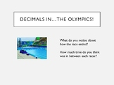 Comparing Decimals (PowerPoint with animations)