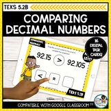 Comparing Decimals | Boom Cards Math Distance Learning