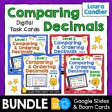 Comparing Decimals Boom Cards and Google Slides Bundle