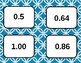 Comparing Decimals Cards