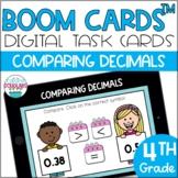 Comparing Decimals & Decimal Fractions BOOM CARDS™ Digital