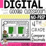 Google Classroom Comparing Decimals