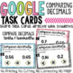 Comparing Decimals Digital Task Cards for Google Classroom