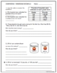 Comparing Decimals Math Activities - coloring, word problems, writing