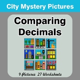Comparing Decimals - Math Mystery Pictures - City