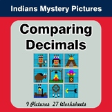 Comparing Decimals - Math Mystery Pictures - Native American Indians