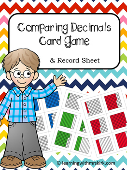 Comparing Decimals Card Game