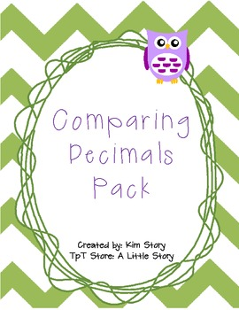 Comparing Decimals: Tenths & Hundredths