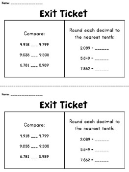 Comparing Decimals: Two Truths and a Lie Scavenger Hunt