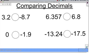 Comparing Decimals Video