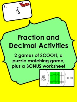 Comparing Decimals to Fractions