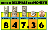 Comparing Decimals to Money