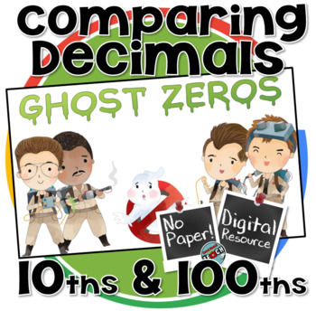 Comparing Decimals to the hundredths place - Digital Resource