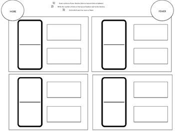 Comparing Dominoes Worksheet