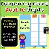Comparing Double Digit Math Game
