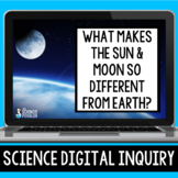 Comparing the Earth, Moon, and Sun Digital Inquiry