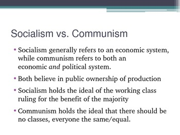 Comparing Economic Systems