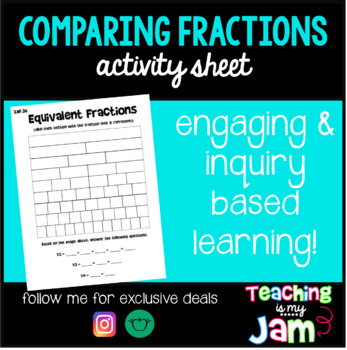 Comparing Equivalent Fractions