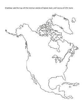 Comparing European-American Colonies