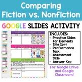 Comparing Fiction and Nonfiction - Google Slides