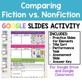 Comparing Fiction and Nonfiction - Google Slides