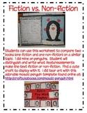 Comparing Fiction vs. Non-fiction