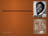 Comparing Firsthand and Secondhand Accounts: Ruby Bridges