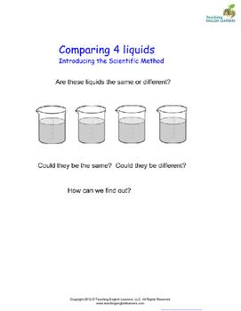 Comparing Four Liquids