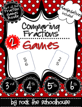 Comparing Fractions Games