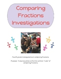 Comparing Fraction Investigations