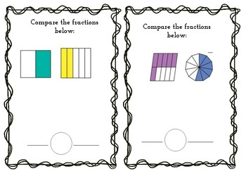 Comparing Fraction Sheets