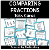 Comparing Fraction Task Cards | Fraction Practice