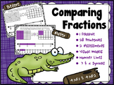 "Comparing Fractions ""Fractions on a Number Line"""