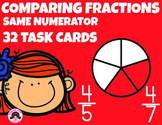 Comparing Fractions Same Numerator