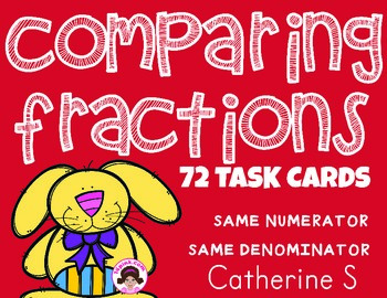 Comparing Fractions with Same Numerator Same Denominator