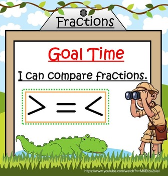 Comparing Fractions Smartboard Lesson