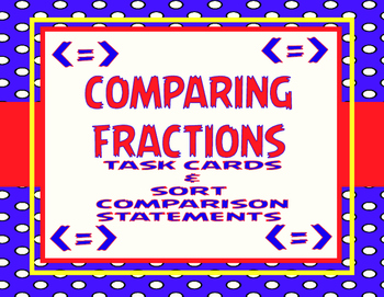 Comparing Fractions- 2 Game Set!  TEKS 4.3