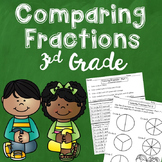 Comparing Fractions with Like Denominators and Numerators