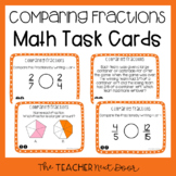 3rd Grade Comparing Fractions Task Cards | Comparing Fract