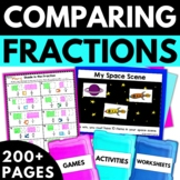 Comparing Fractions - Fraction Worksheets Activities Games