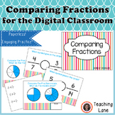 Comparing Fractions for the Digital Classroom