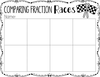 Comparing Fractions {A Math Center Activity}
