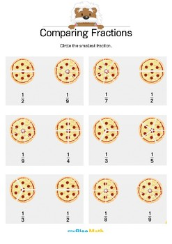 Fractions: Comparing Fractions 3