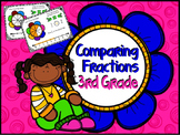 "Comparing Fractions ""Fractions on a Number Line"" (3rd Grade)"