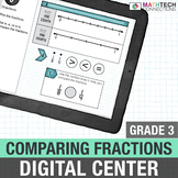 Comparing Fractions - 3rd Grade Digital Math Center