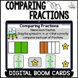 Comparing Fractions 3rd grade Boom Cards