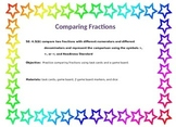 Comparing Fractions 4.3D, 4.NF.2