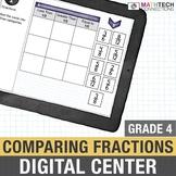 Comparing Fractions  - 4th Grade Digital Interactive Math Center